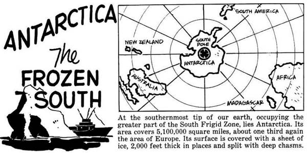 Antarctica - The Frozen South! Click for the full page