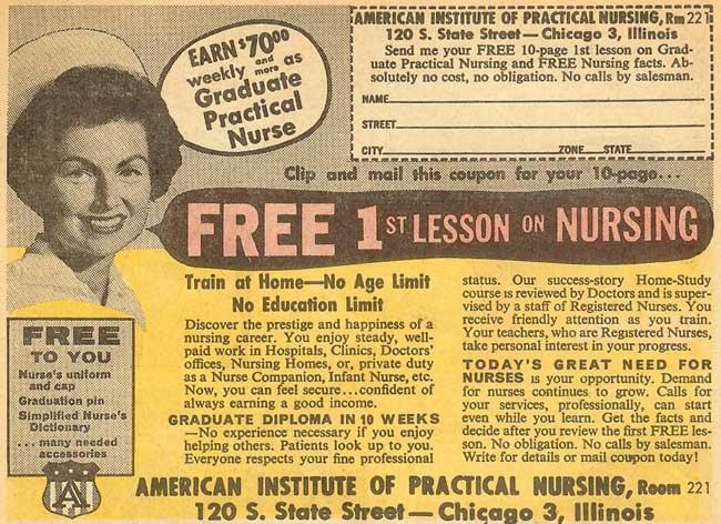 Earn 70 00 Or More Weekly As Graduate Practical Nurse
