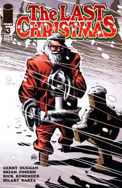 cover, The Last Christmas #3