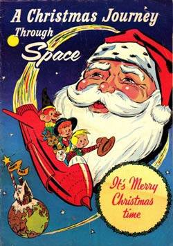 cover, A Christmas Journey Through Space