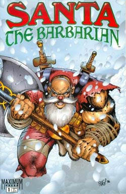 cover, Santa the Barbarian #1