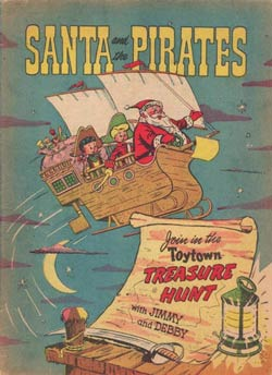 cover, Santa and the Pirates